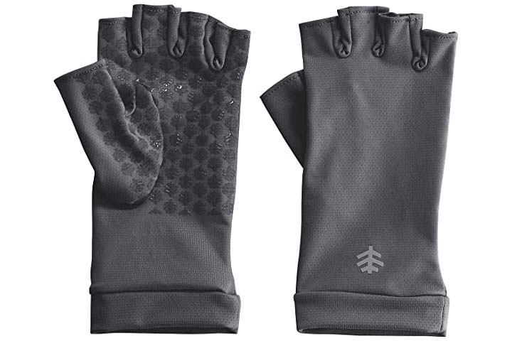 Coolibar Ouray UV Fingerless Sun Gloves