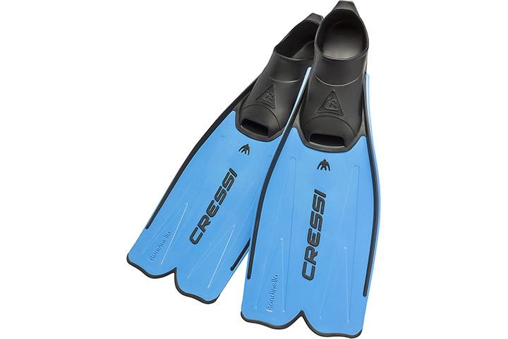 Cressi Adult Powerful Open Heel Diving Fins
