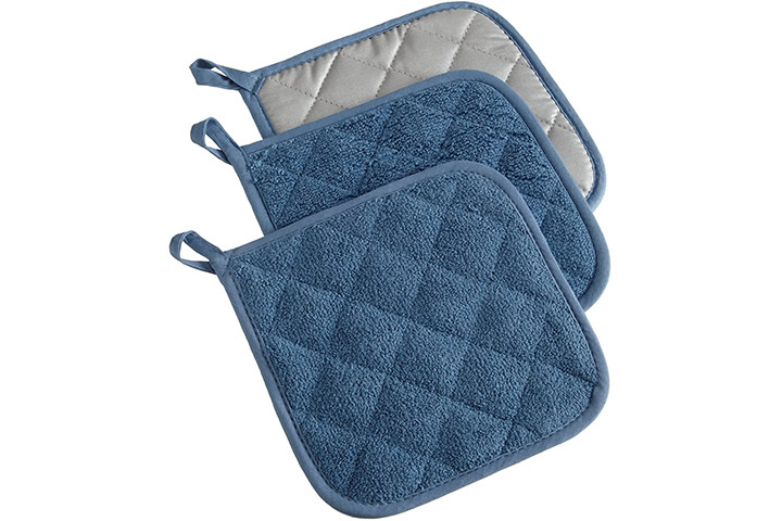 DII 100% Cotton, Quilted Terry Oven Set