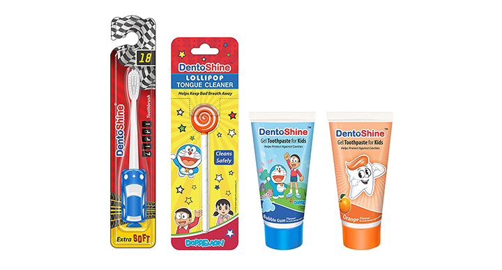 DentoShine Oral Care Combo