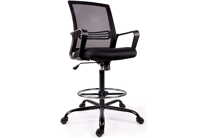 Drafting Chair Tall Office Chair for Standing Desk