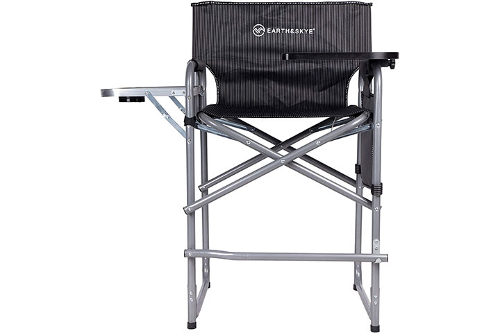 EARTH&SKYE Tall Director Chair Foldable Director Chair