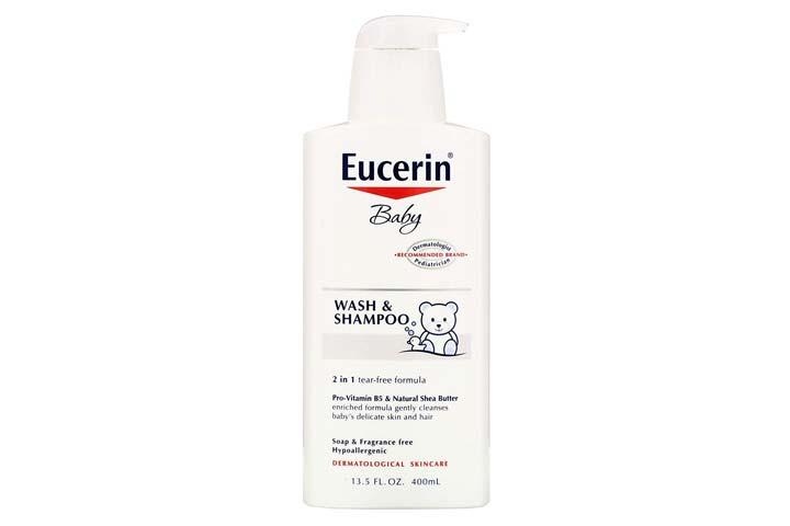 Eucerin Baby Wash & Shampoo