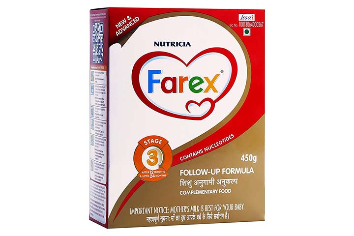 Farex -3 Follow Up Formula Refill