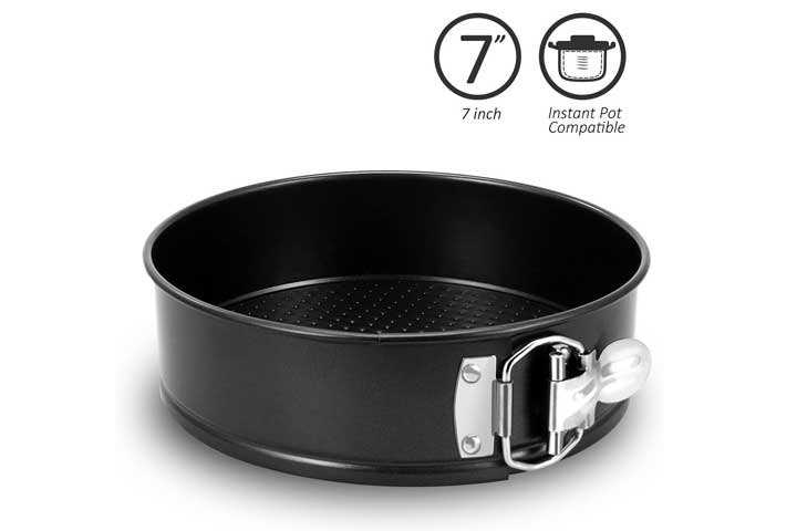 Fayy 7 Inch Springform Pan Compatible for Instant Pot Accessories and Pressure Cooker