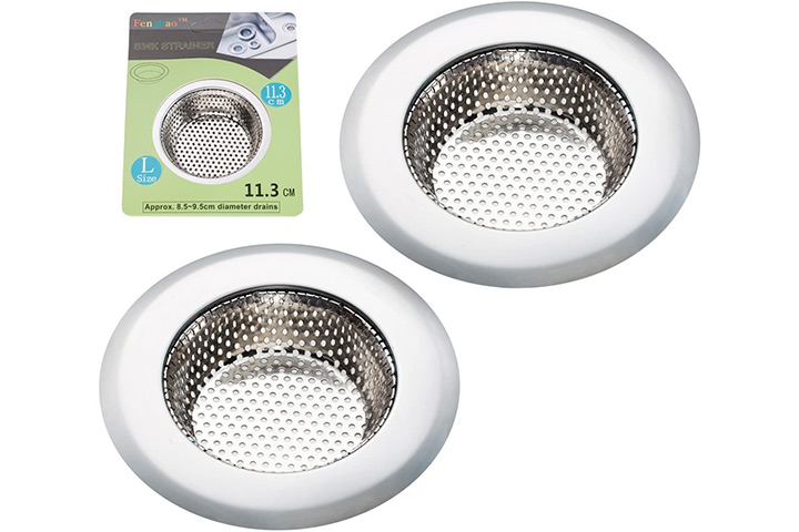 Fengbao 2PCS Kitchen Sink Strainer