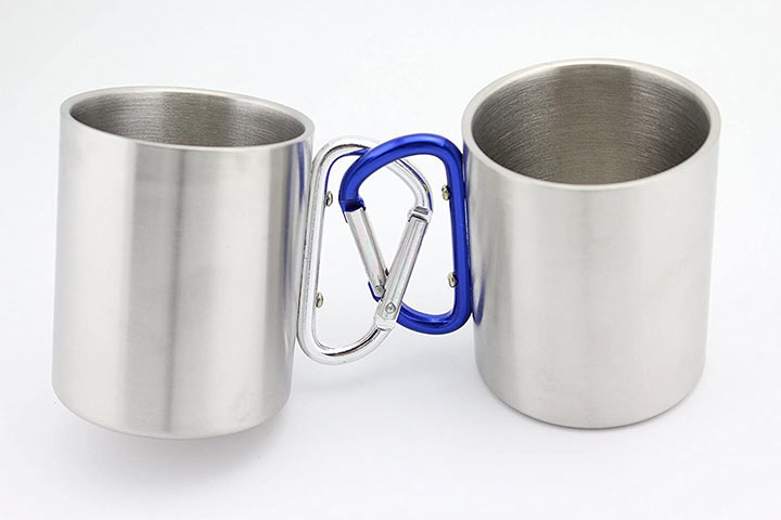 Finex Stainless Steel Portable Camping Mugs