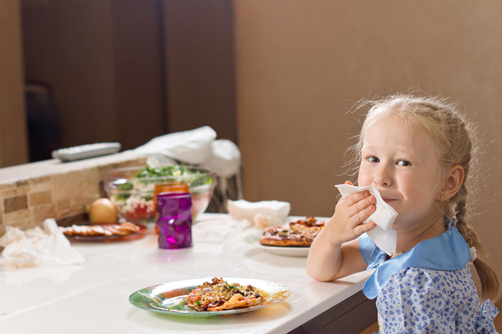 Follow table manners