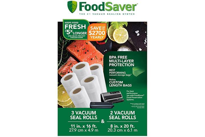 FoodSaver Vacuum Seal Rolls