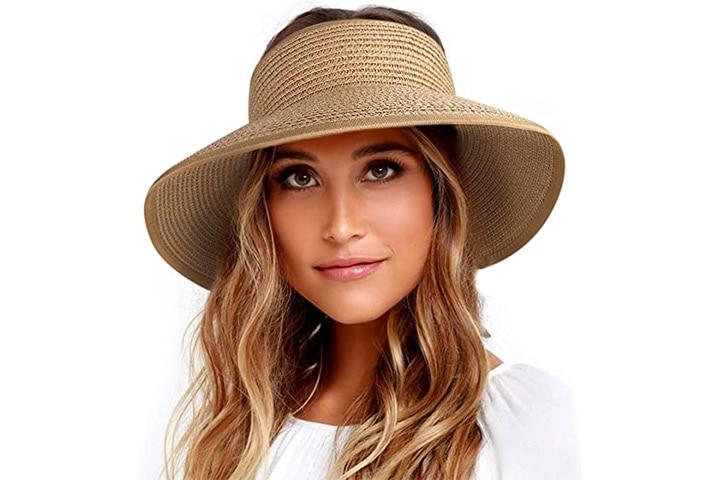 Furtalk Sun Visor Hat With Open Top