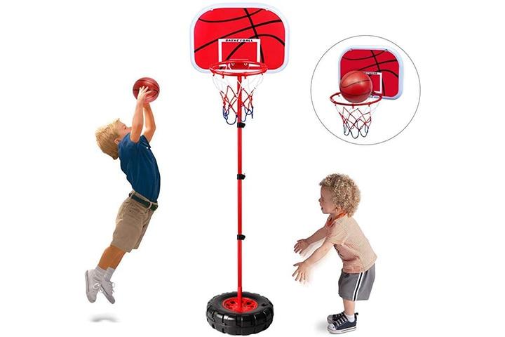 Happytime Portable Basketball Hoop Set