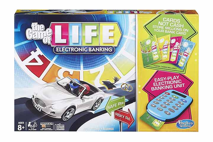 Hasbro The Game of Life Electronic Board Game