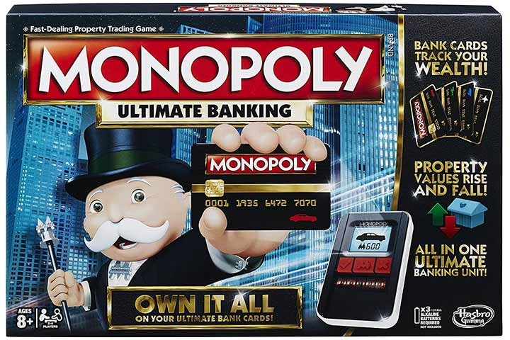 Hasbro Ultimate Banking Edition Monopoly Game