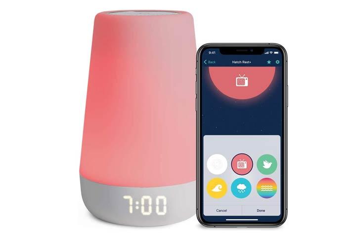 Hatch Rest Sound Machine Alarm Clock