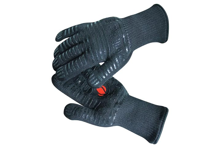Heat Resistant Gloves by Grill Heat Aid