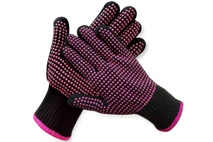 Heat Resistant Hair Styling Gloves by AFT90