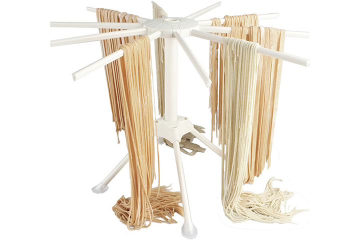 Hin Plus Pasta Drying Rack with 10 bar handles