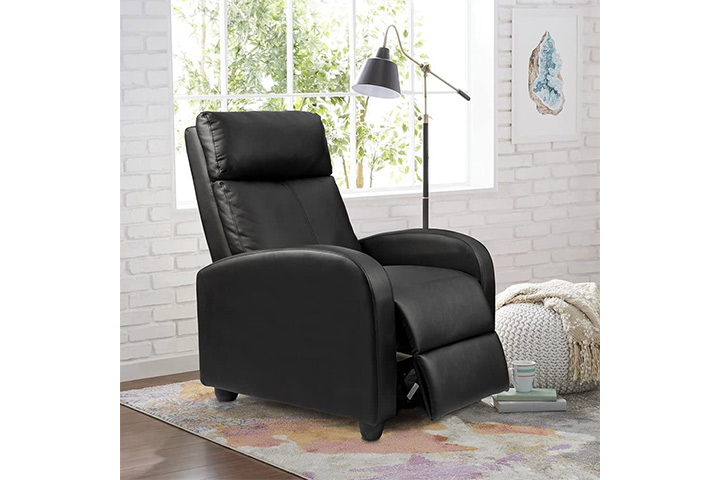 Homall Recliner Chair Padded Seat PU Leather