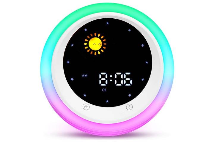 I·CODE Time To Wake Alarm Clock For Kids