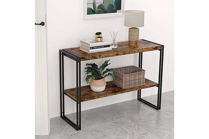IRONCK Rustic Console Table 2 Tier