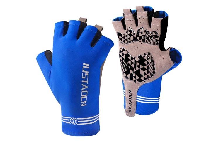 IUSTAOCN Fishing Fingerless Gloves
