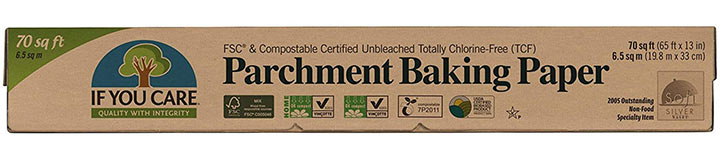 If You Care Certified Parchment Baking Paper