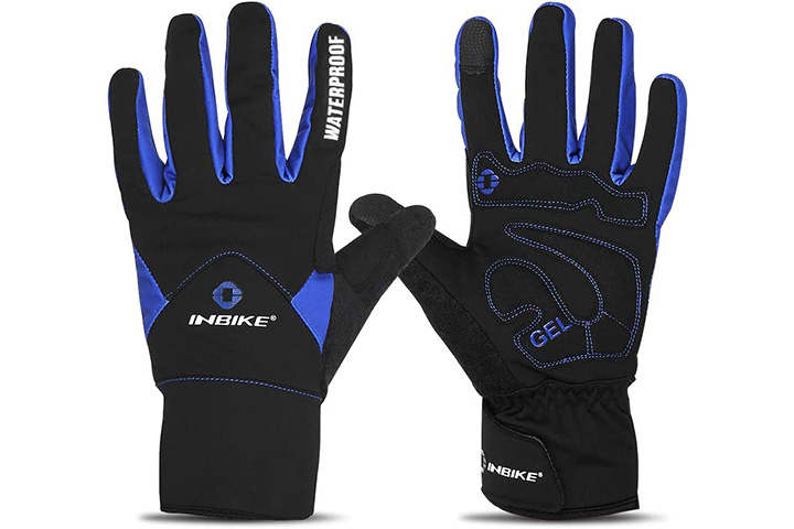 Inbike Men's Touch Screen Bike Gloves