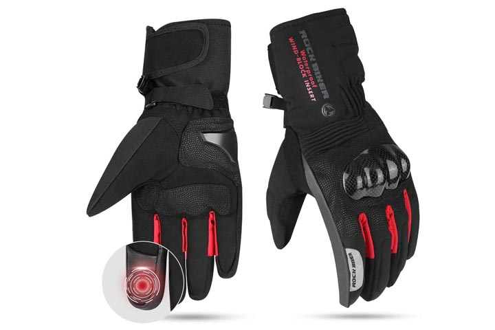 Issayauto Motorcycle Winter Gloves