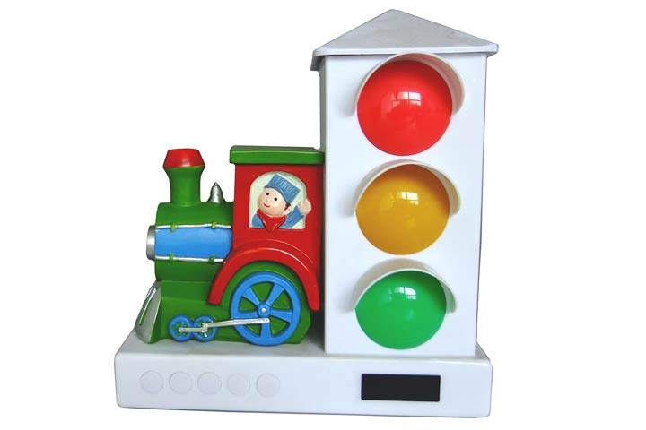Its About Time Stoplight Sleep Enhancing Alarm Clock For Kids