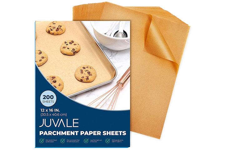 Juvale Pre-Cut Sheet Tray Parchment Paper