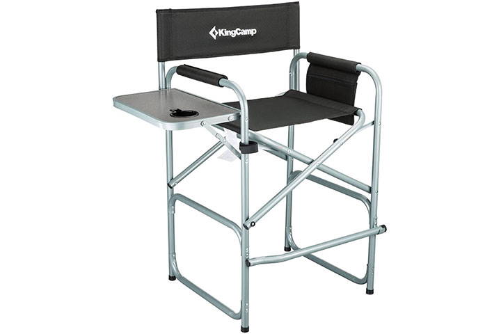 KingCamp Tall Director Chair Makeup Folding Artist Chair