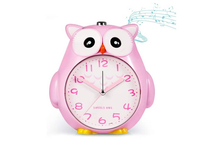 Korotus Collection Cute Owl Alarm Clock