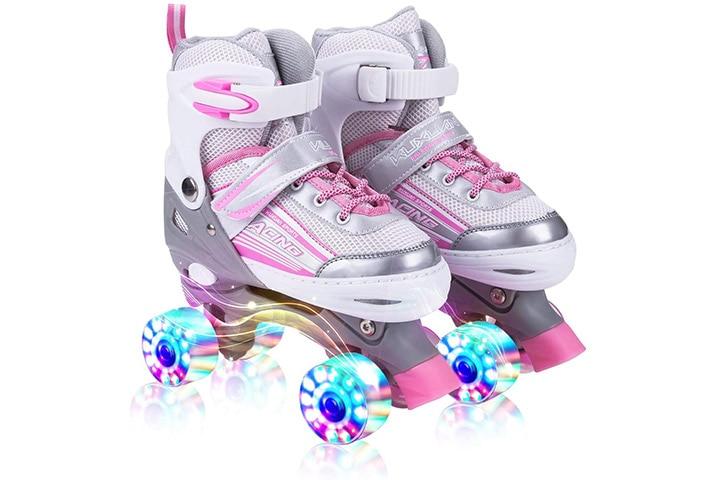 Kuxuan Adjustable Roller Skates For Kids