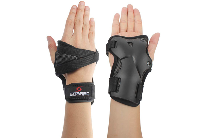 Lalatech Skating Gloves, Protective Gear