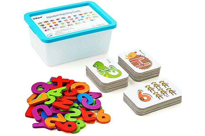 LiKee Alphabet and Number Flash Cards