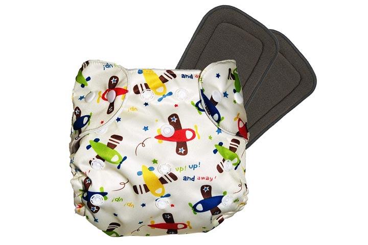 Liltoes Reusable Cloth Diaper
