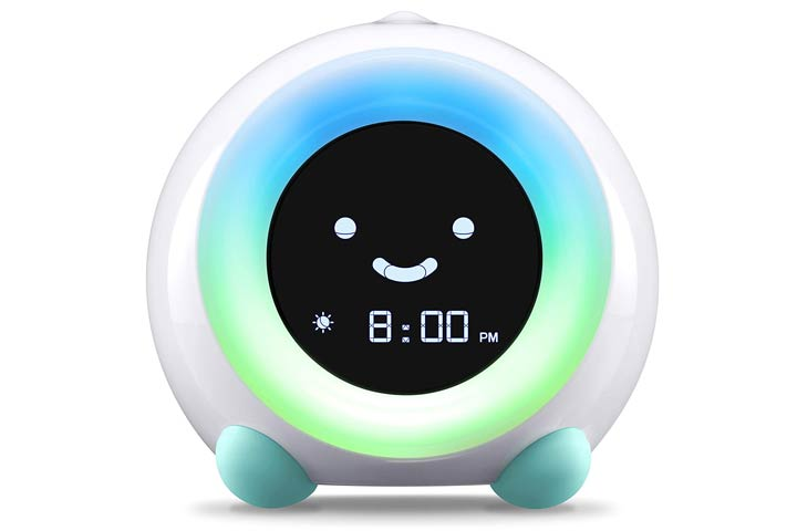 Little Hippo Mella Ready To Rise Children's Sleep Trainer Alarm Clock