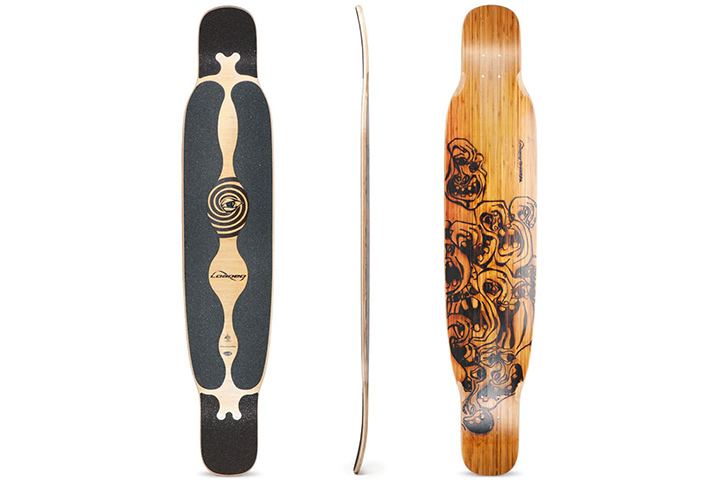 Loaded Boards Bhangra Bamboo Longboard Deck