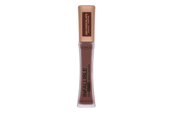 Loreal Paris Infallible Pro Matte Les Chocolats Scented Liquid Lipstick