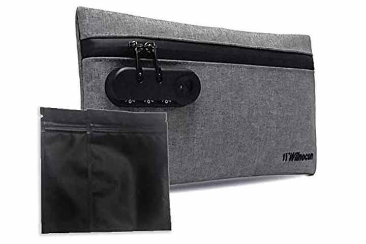 Luxurious Smell-Proof Bag By Wilnocon