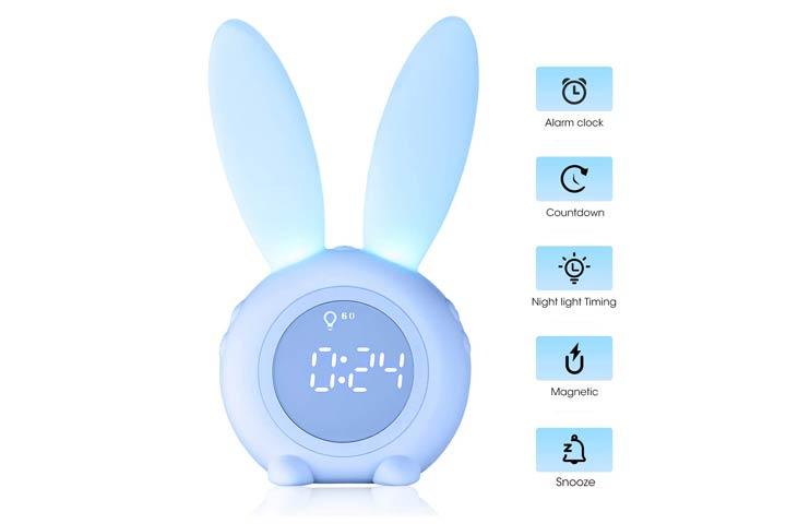 Luye Childrens Sleep Trainer And Alarm Clock