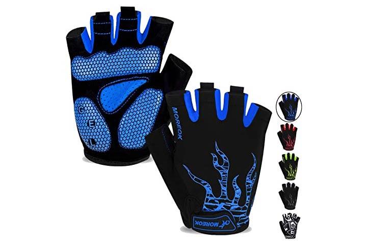 MOREOK Men's Cycling Gloves