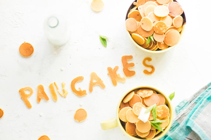 Make edible word messages