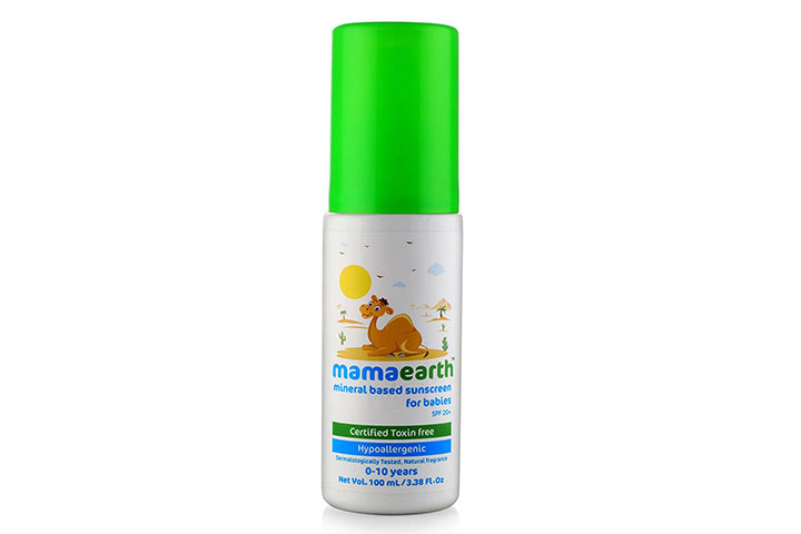 MamaArtha Mineral Based Sunscreen Baby Lotion