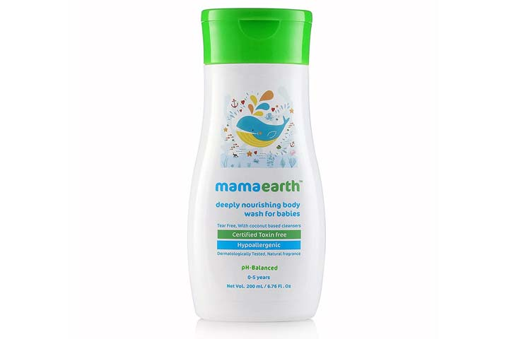 Mamaearth Deeply Nourishing Wash For Babies