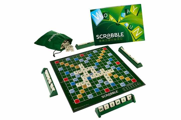 Mattel Scrabble Board Game