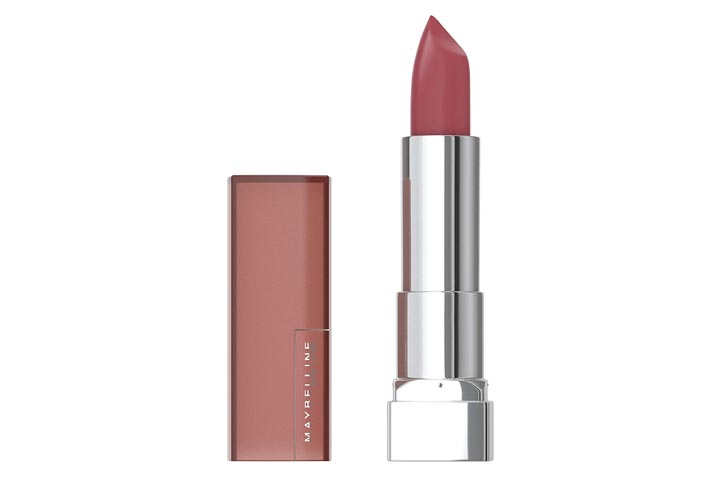 Maybelline New York Color Sensational Creamy Matte Lipstick, Touch of Spice