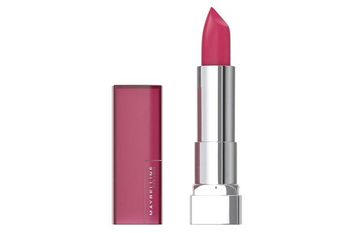 Maybelline New York Color Sensational Pink Matte Lipstick, Mesmerizing Magenta