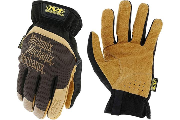 Mechanix Wear: DuraHide FastFit Leather Work Gloves