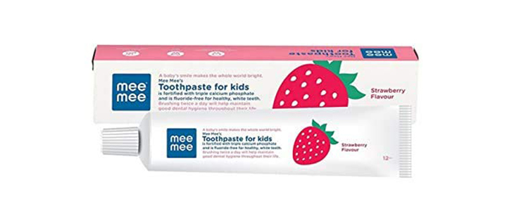 Mee Mee Fluoride-Free Toothpaste